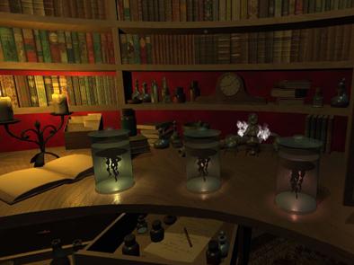 Specimen Jars in Evolution VR Game by Esther Appleyard Fox